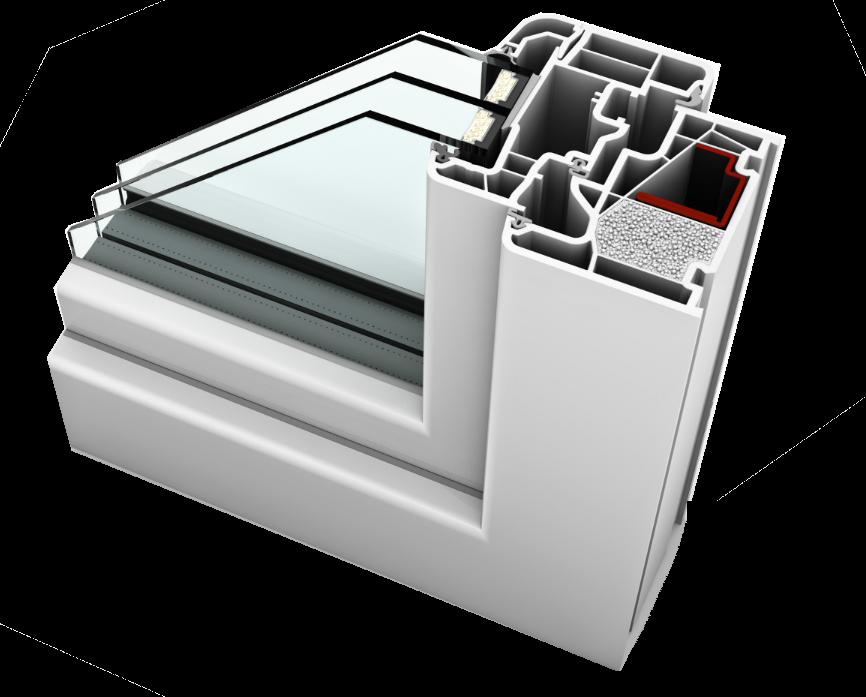 internorm home soft KF 410 uPVC
