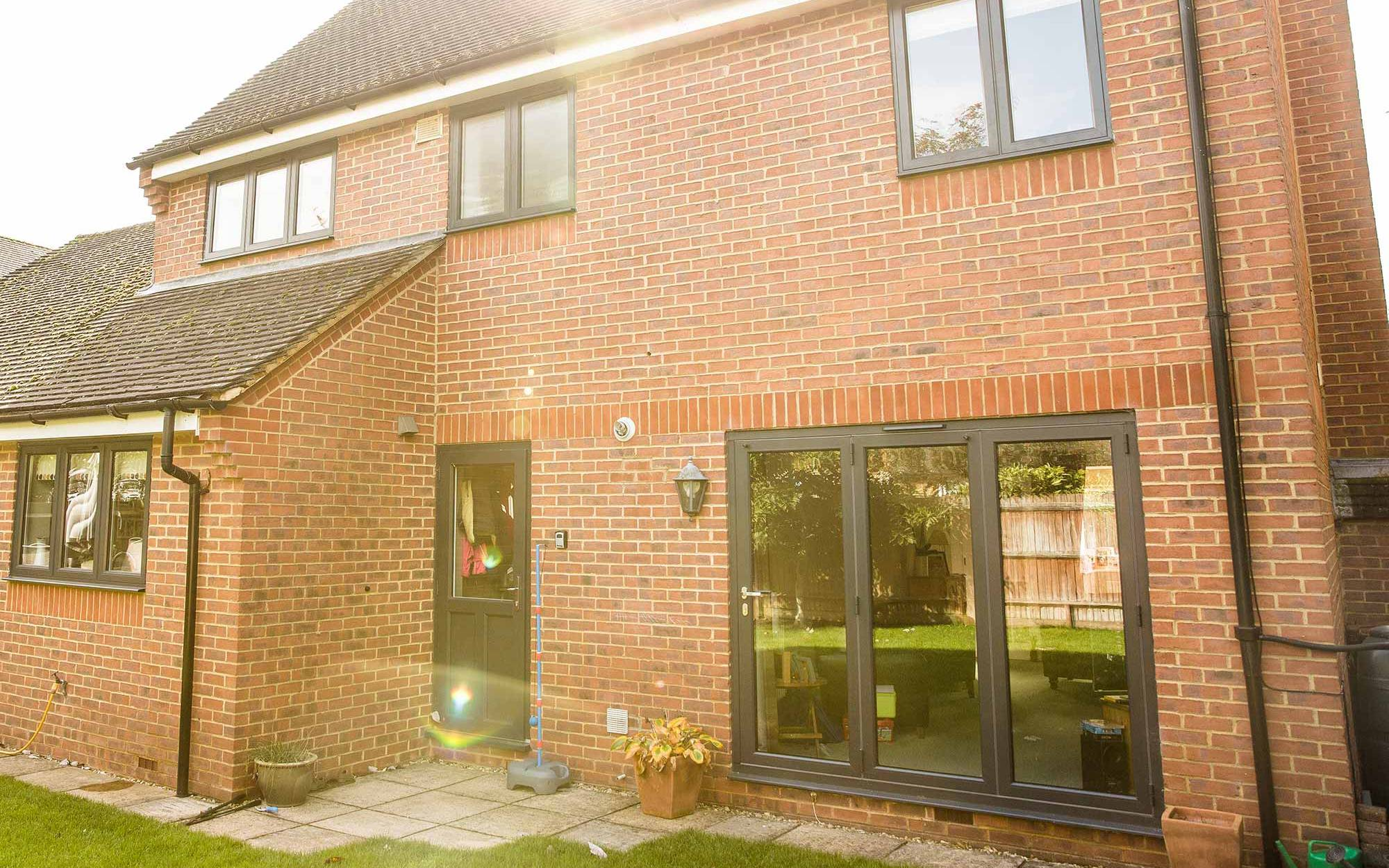 Aluminium Bifold Doors – Deddington