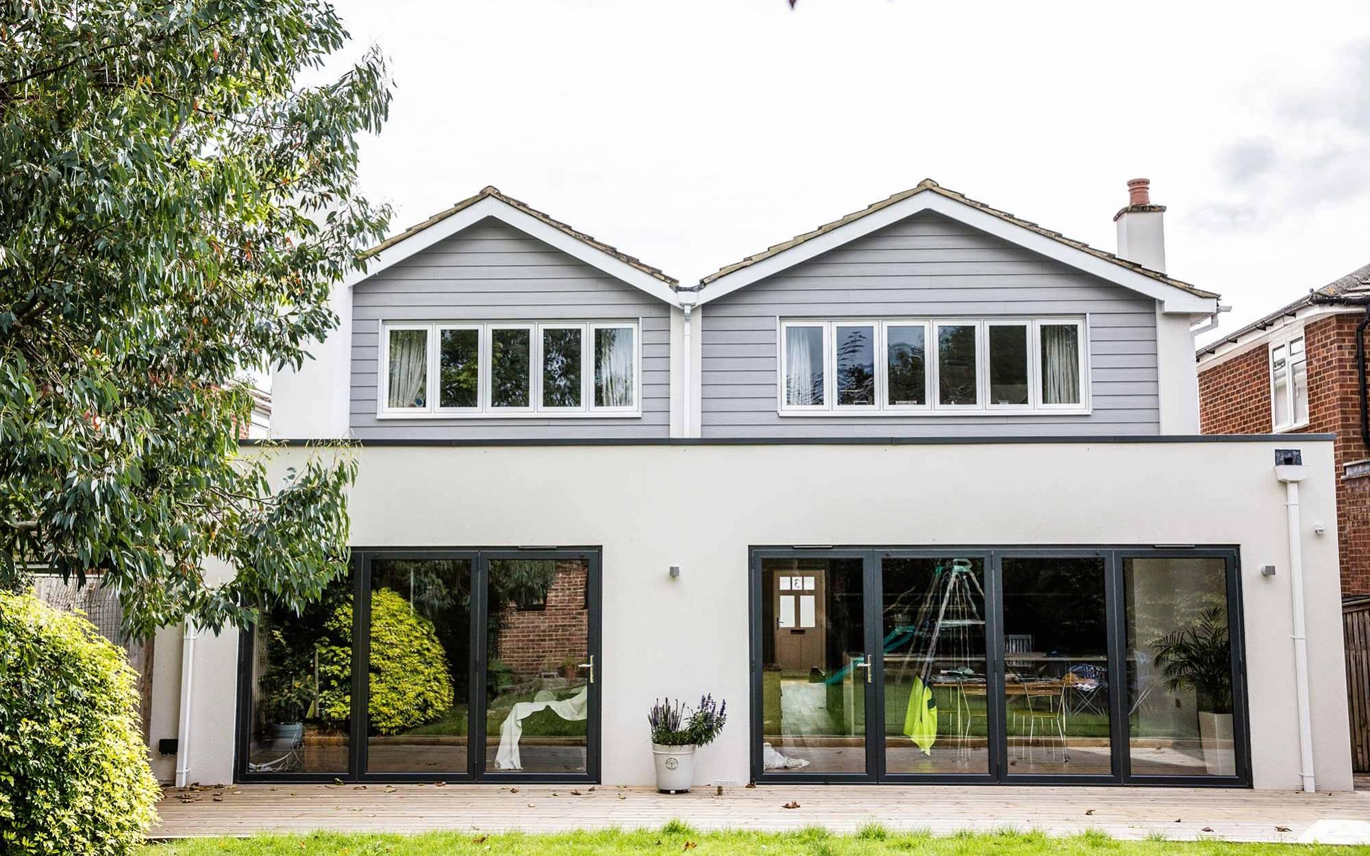 Aluminium bi-fold doors – Marlow
