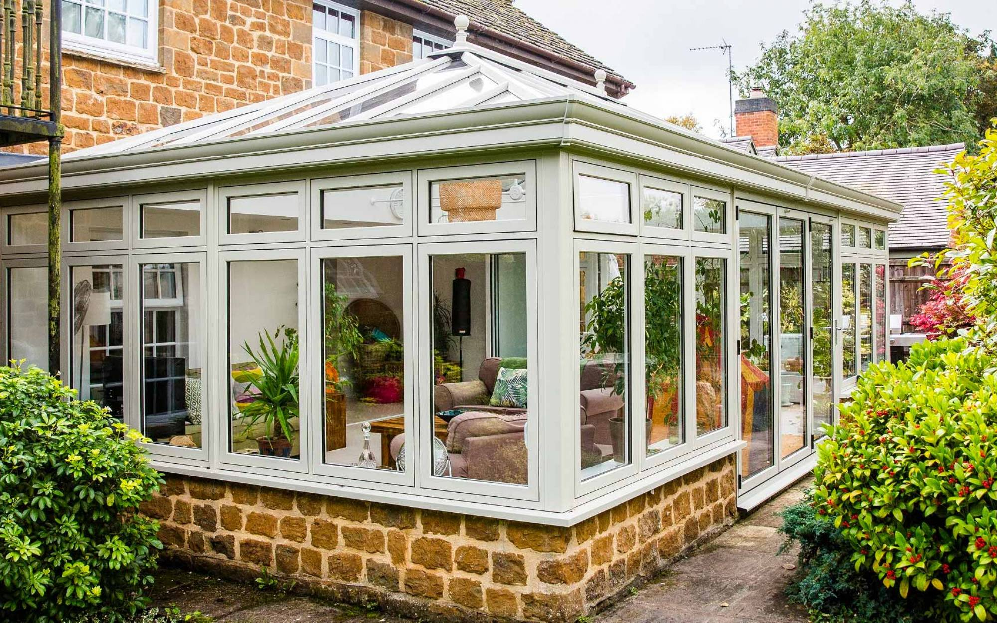 Lighting Ideas for your Home's Conservatory