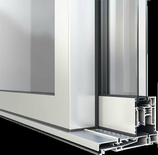 Slimeline Aluminium sliding doors