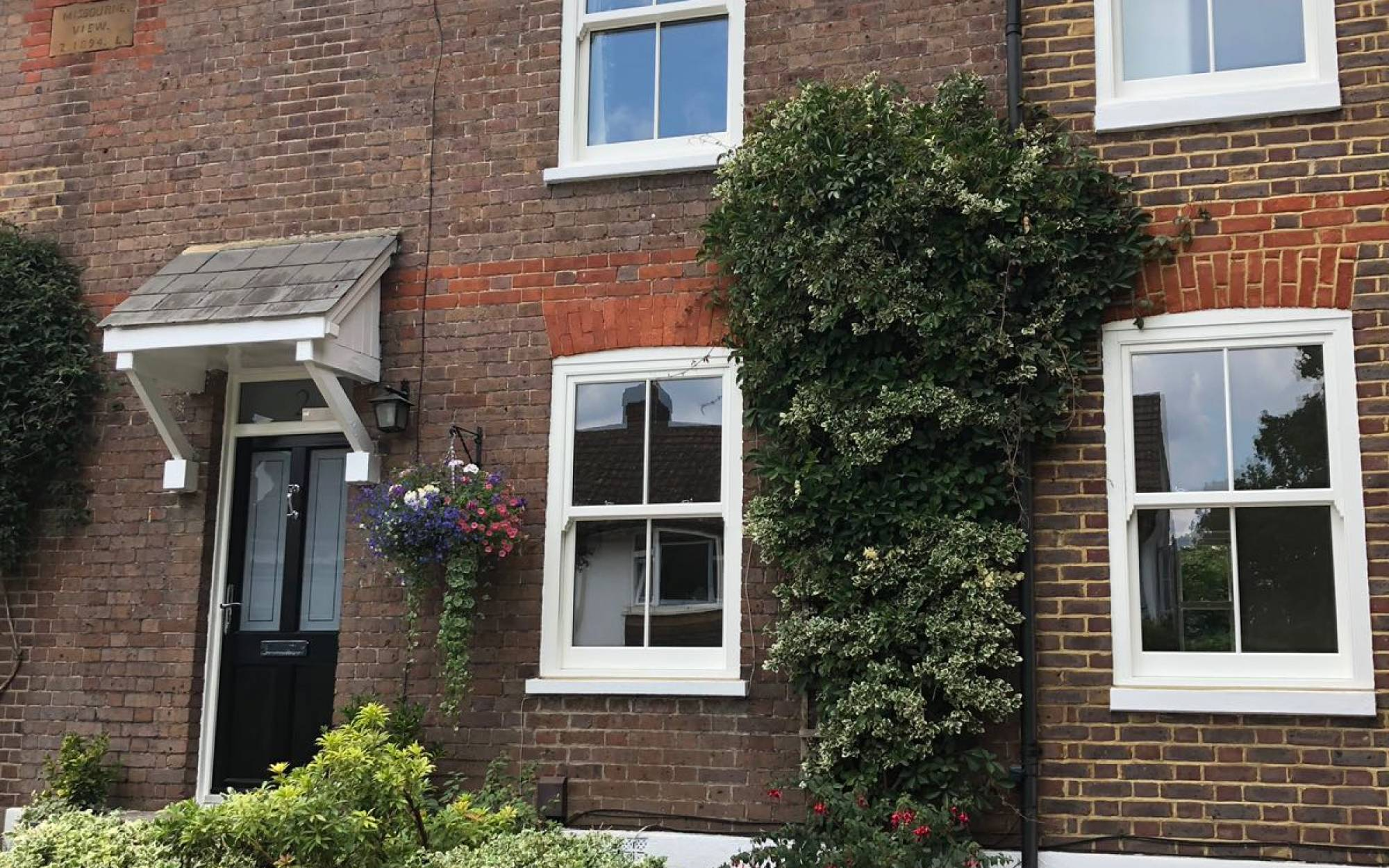 Timber alternative sash windows, Chalfont St Giles