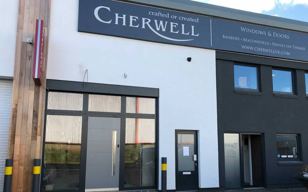 Cherwell Windows Destination Showroom Launch