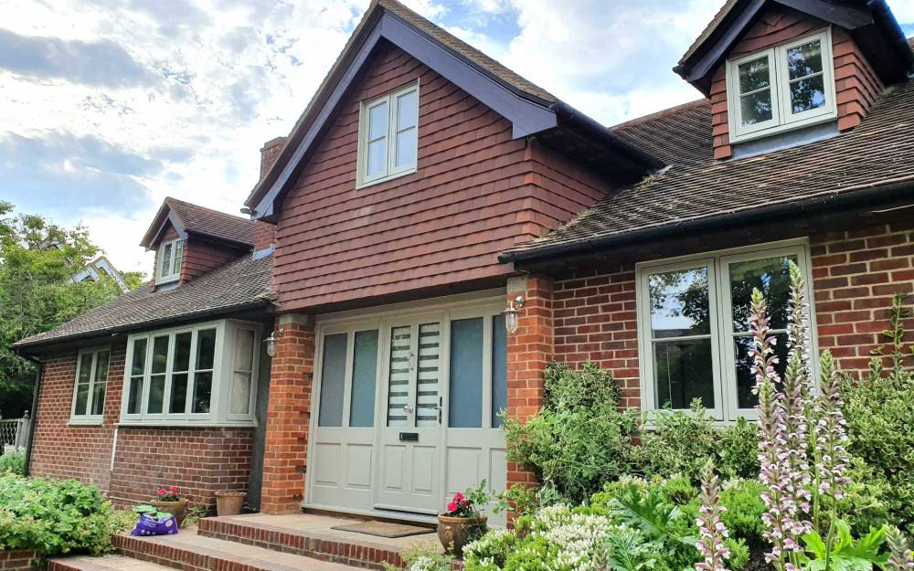 Timber windows in Reading