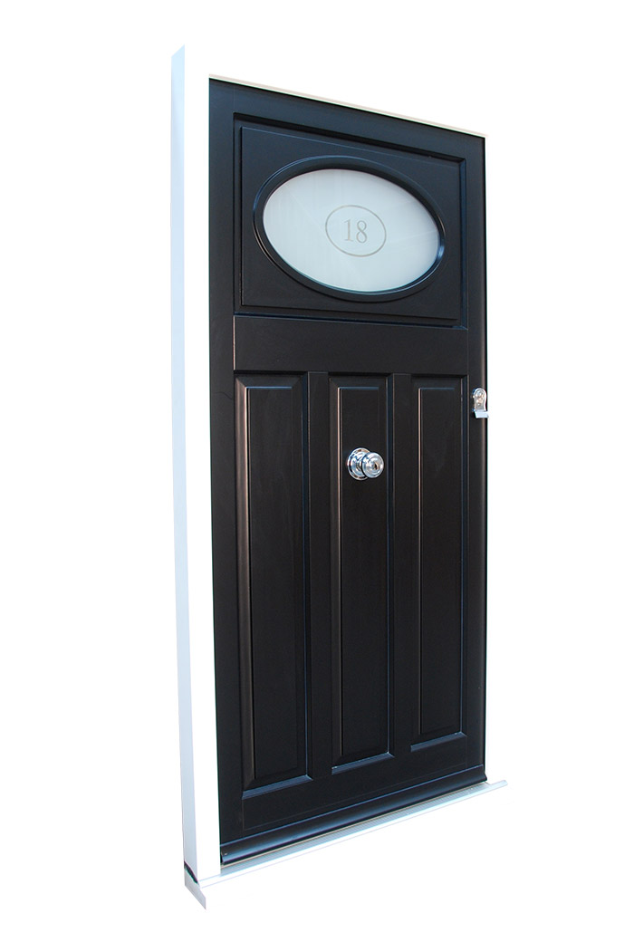 Classic Timber Front Door
