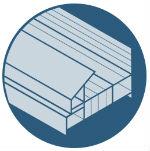 Ultra Slim lightweight durable aluminium frames