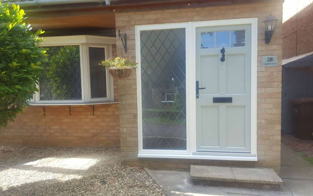 Timber alternative front door Banbury